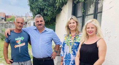 Ζέττα Μακρή: Συνάντηση με Μιτζικό για προβλήματα του Δήμου Ν. Πηλίου [εικόνες]