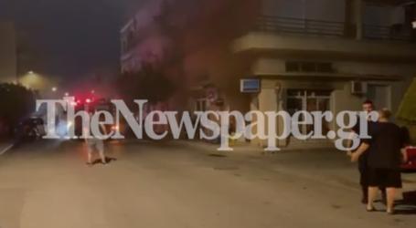 ΤΩΡΑ: Φωτιά σε κατάστημα στη Ν. Ιωνία Βόλου – Δείτε εικόνες και βίντεο