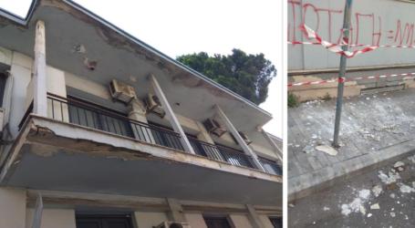 Βόλος: Υπό κατάρρευση το κτίριο της Περιφερειακής Ενότητας – Επίθεση εργαζομένων σε Κολυνδρίνη [εικόνες]