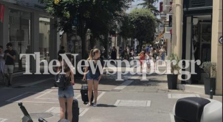 Βόλος: «Μουδιασμένη» σήμερα η αγορά – Άδεια η Ερμού [εικόνες]