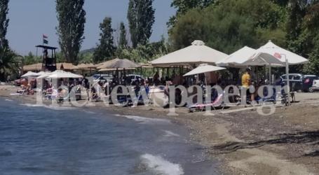 Ανάσες δροσιάς αναζήτησαν οι Βολιώτες στις κοντινές παραλίες – Δείτε εικόνες