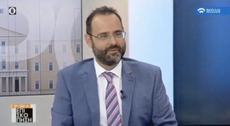 Μαραβέγιας για όλα στο κανάλι της Βουλής [βίντεο]