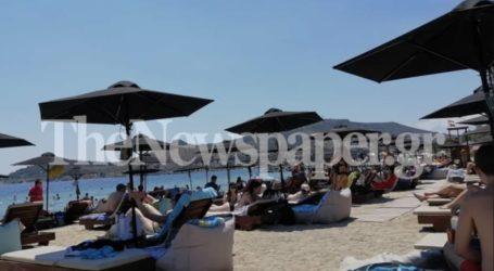 Στην παραλία αμέσως μετά τη δουλειά οι Βολιώτες – Δείτε εικόνες