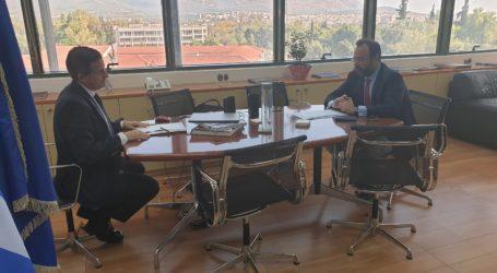 Συνάντηση του Κων. Μαραβέγια με τον Γ.Γ. Περιβάλλοντος για αέρια ρύπανση, καύση RDF από την ΑΓΕΤ και εργοστάσιο SRF