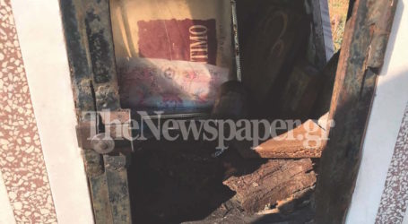 Βανδάλισαν εκκλησάκι στον Βόλο – Το έσπασαν και το έκαψαν [εικόνες]