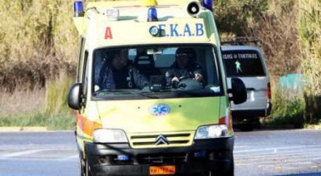Τροχαίο ατύχημα στα Λεχώνια με έναν τραυματία