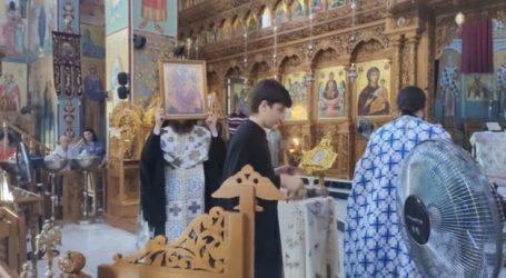 Δείτε φωτογραφίες: Πανηγύρισε ο Ιερός Ναός Ζωοδόχου Πηγής στη Λάρισα