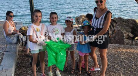 Ευαισθητοποιημένοι Βολιώτες καθάρισαν την παραλία του Αναύρου [εικόνες & βίντεο]
