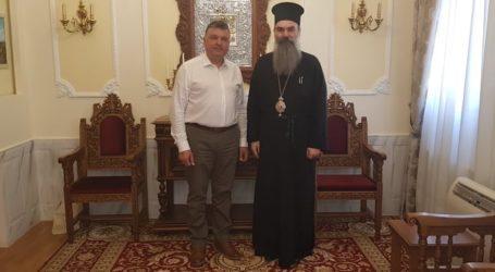 Συνάντηση Ευαγγέλου με τον Μητροπολίτη Ελασσόνας κ. Χαρίτωνα
