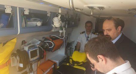 Αυτοψία Τριαντόπουλου: Μέχρι τέλος του χρόνου στις Σποράδες το πλωτό ασθενοφόρο [εικόνες]