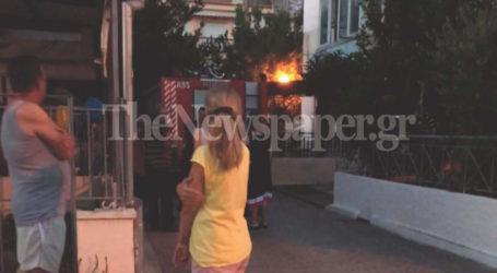 Φωτιά σε κουζίνα στη Ν. Ιωνία Βόλου – Δείτε εικόνες