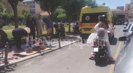 Βόλος: Κοιμόταν σε χαρτόκουτο σε πεζοδρόμιο του Βόλου – Παρέμβαση ΕΚΑΒ και Αστυνομίας [εικόνες]