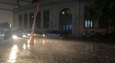 Περιφέρεια Θεσσαλίας: Έκτακτο δελτίο επιδείνωσης καιρού με καταιγίδες, ισχυρούς ανέμους και χαλαζοπτώσεις από το βράδυ του Σαββάτου