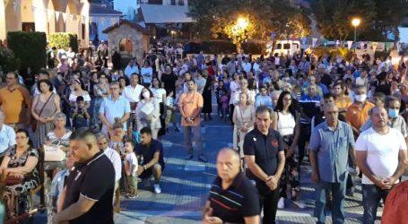 Πλήθος κόσμου στη γιορτή της Αγίας Παρασκευής στη Μητρόπολη Δημητριάδος [εικόνες]