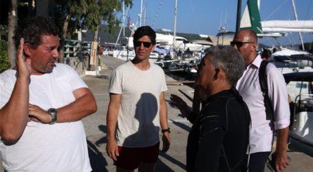 Ρουβάς – Αγοραστός: Δοκιμαστική βουτιά στο υποβρύχιο μουσείο της Αλοννήσου [εικόνες]