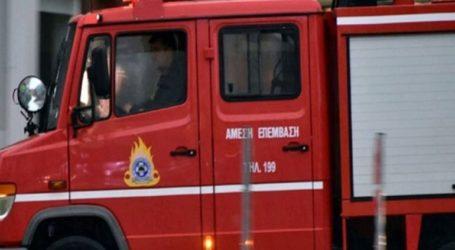 Πυρκαγιά σε οικόπεδο στο Χαλάνδρι