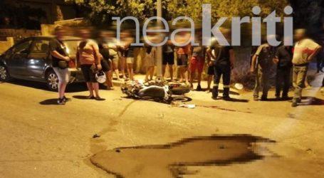 Σοβαρός τραυματισμός 22χρονου δικυκλιστή σε τροχαίο στην Ιεράπετρα