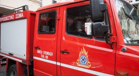 Πυρκαγιά σε ισόγειο διαμέρισμα στο Δήμο Νίκαιας-Ρέντη