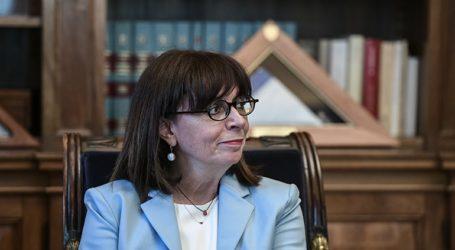 Η ΠτΔ Κατερίνα Σακελλαροπούλου εξέφρασε τις θερμές ευχές της προς τον αμερικανικό λαό