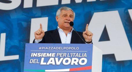 Συγκέντρωση της κεντροδεξιάς στην Ρώμη κατά της κυβέρνησης του Τζουζέπε Κόντε