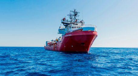 Σε καραντίνα 180 μετανάστες και πρόσφυγες του Ocean Viking