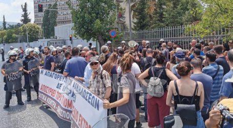 Διαμαρτυρία του ΚΚΕ για το νομοσχέδιο που αφορά τις διαδηλώσεις
