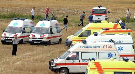 Σφοδρή σύγκρουση τρένων στην Τσεχία