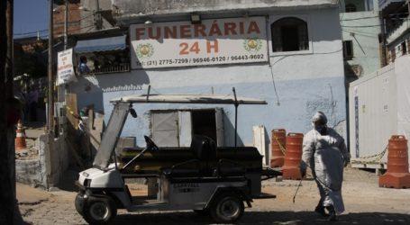 Ξεπέρασαν τους 67.000 οι θάνατοι στη Βραζιλία