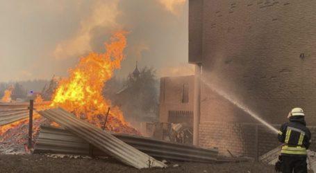 Τουλάχιστον πέντε νεκροί από την πυρκαγιά στην ανατολική Ουκρανία
