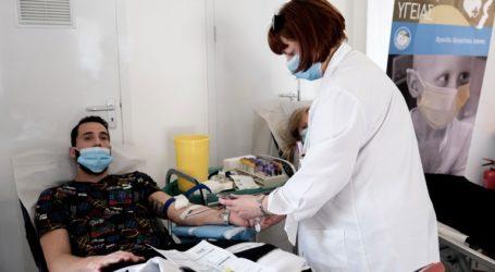 Εθελοντική αιμοδοσία από την Περιφέρεια Αττικής