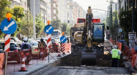 Συνεχίζεται το πρόγραμμα ασφαλτοστρώσεων των δρόμων της Αθήνας