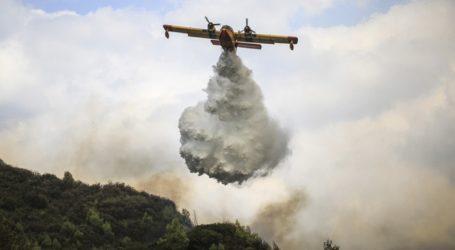 Μεγάλη πυρκαγιά στις Σάπες Ροδόπης
