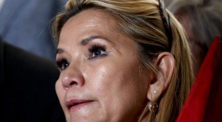 Μολύνθηκε από κορωνοϊό η μεταβατική πρόεδρος της Βολιβίας Τζανίνε Άνιες