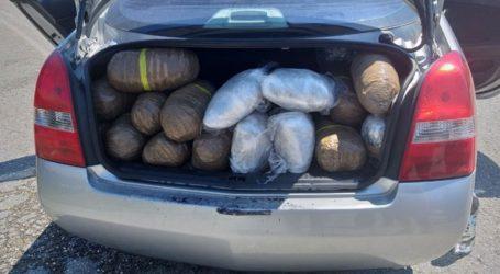 Τροχαίο ατύχημα αποκάλυψε μεταφορά ναρκωτικών στη Θεσπρωτία