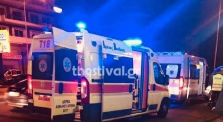 Αυτοκίνητο παρέσυρε και εγκατέλειψε πεζό στη Θεσσαλονίκη