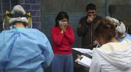 Περισσότερα από 341.000 τα κρούσματα στο Περού
