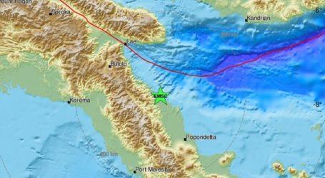 Σεισμική δόνηση 6,9R στην Παπούα Νέα Γουινέα