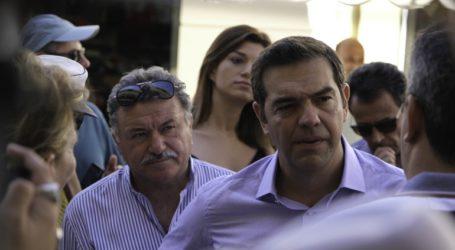 Στην Κεφαλονιά ο Τσίπρας: «Δεν παραδώσαμε άδεια ταμεία