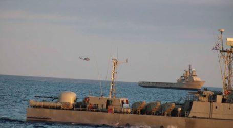 Με πυρά και τορπίλες η άσκηση του Πολεμικού Ναυτικού σε Μυρτώο Πέλαγος και Κύθηρα