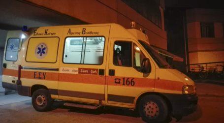 Τροχαίο με τραυματισμό 20χρονου δικυκλιστή στη Φθιώτιδα