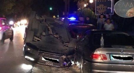 Μία τραυματίας από ανατροπή αυτοκινήτου στη Χαλκιδική