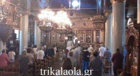 Πένθιμες οι καμπάνες στα Τρίκαλα για την Αγία Σοφία