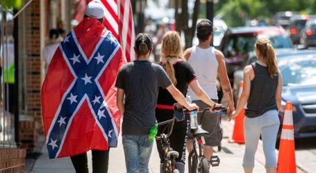 Η σημαία της συνομοσπονδίας είναι υπερήφανο σύμβολο του Νότου