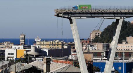 Εγκαίνια στις 3 Αυγούστου για τη νέα γέφυρα της Γένοβας