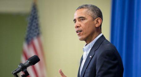 Ο Μπαράκ Ομπάμα στο πλευρό του «φίλου» του Τζο Μπάιντεν