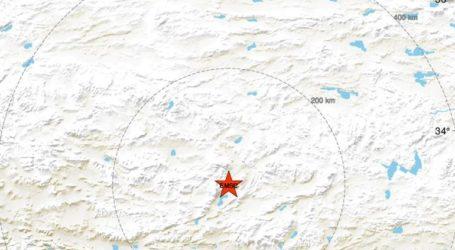 Σεισμική δόνηση 6,2R στη δυτική επαρχία Σιζάνγκ