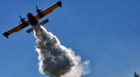 Έκτακτο: Φωτιά στο Λουτράκι