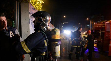 Σοβαρές ζημιές από πυρκαγιά σε δύο φορτηγά