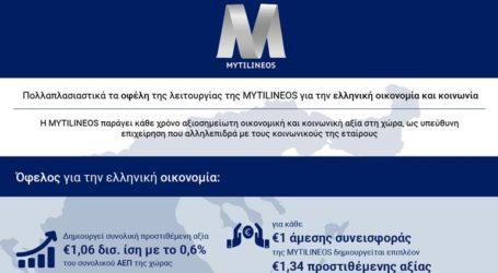 Πολλαπλασιαστικά τα οφέλη της λειτουργίας της MYTILINEOS για την ελληνική οικονομία και κοινωνία