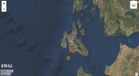Σεισμός 4,8 Ρίχτερ στην Κεφαλονιά